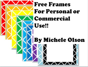 Free Frames! For Classroom and Commercial Use