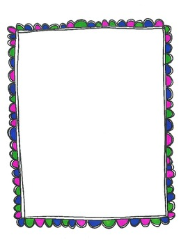Free Frames:  Scalloped