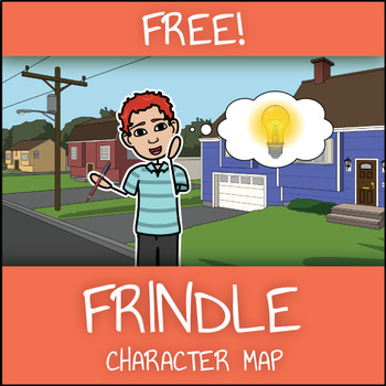 Free Frindle Character Map Graphic Organizer