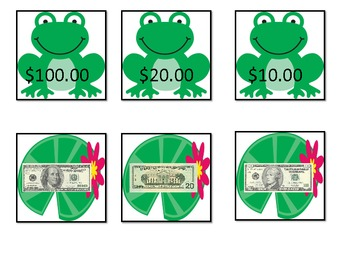 Free Frog Money Match Up Game
