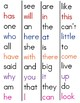 Free Fry Sight Word Strips