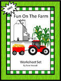 Free Farm Math Worksheets