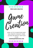 Free Game Creation