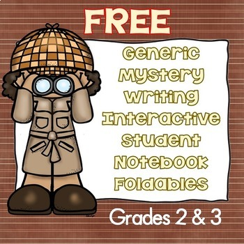 Free Generic Mystery Writing with Interactive Student Note