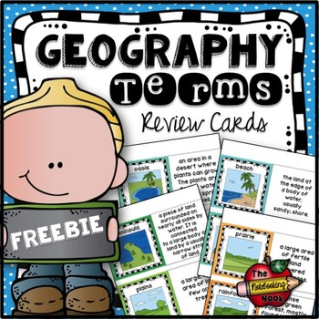 Free Geography Review Cards