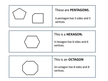 Free Geometry Vocabulary Cards for Centers, Cooperative Learning, or Flashcards