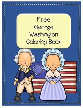Free George Washington Coloring Book