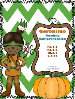 Free Geronimo Reading Comprehension