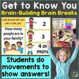 Free Get to Know You Movement Activity Brain Breaks Google