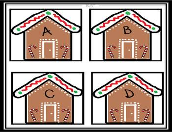 Free Gingerbread ABC Games