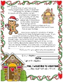 Free Gingerbread House Letter