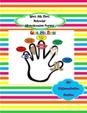 Free!  Give Me Five Behavior Management Poster Vertical