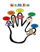 Free!  Give Me Five Behavior Management Poster Vertical