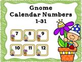 Free Gnome Calendar Numbers 1-31