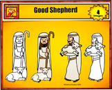 Good Shepherd Clip art Personal use from Charlotte's Clips: Catholic - Christian