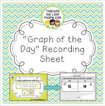 "Free ""Graph of the Day"" Data Recording Page"