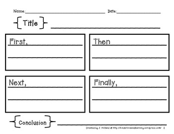 free graphic organizers pr by kinderlove and learning