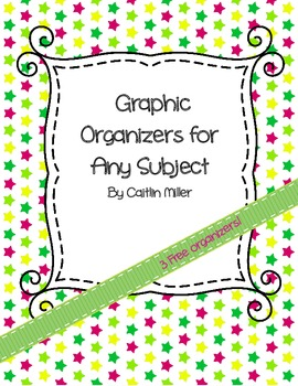 Free Graphic Organizers for Any Subject