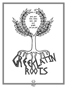 Free Greek and Latin Roots PED unit