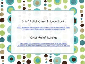 Free Grief Printables
