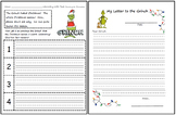 Free Grinch Writing Activity