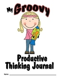 **Free** Groovy Themed Cover for Productive Thinking Journals