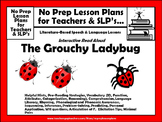 FREE Interactive Guided Reading Lesson Plan--Grouchy Ladybug
