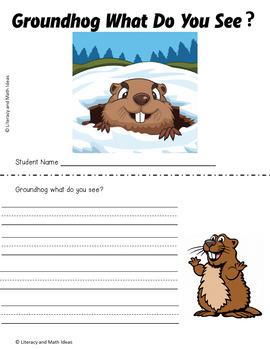 Free Groundhog Day Mini Book
