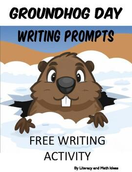Free Groundhog Day Writing