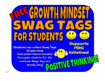 Free Growth Mindset Brag Tags