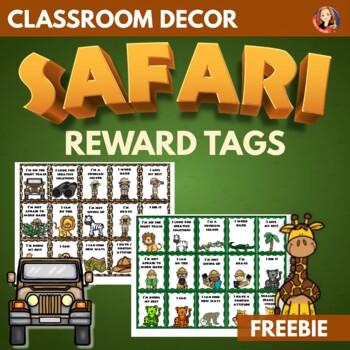Free Growth Mindset Brag Tags in Safari Theme