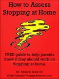 Free Guide for Parents: How to Assess Stopping at Home.  S