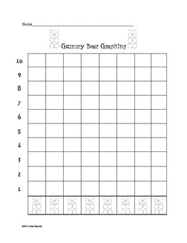 Free Gummy Bear Graph