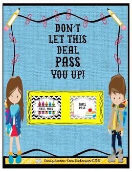 Free Hall Passes