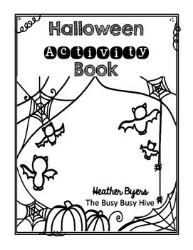 Free Halloween Activity Book