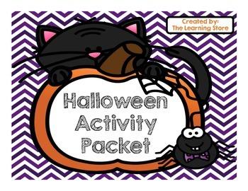 Free Halloween Activity Pack