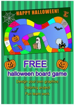 Free Halloween Board Game