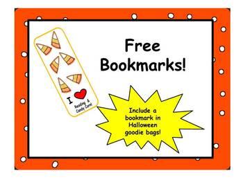 Free Halloween Bookmark!