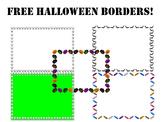 Free Halloween Borders!