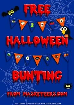 Free Fun Halloween Bunting