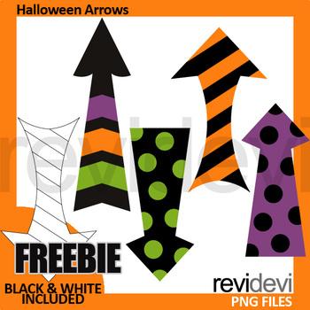 Free Halloween Clip Art Arrows by revidevi | Teachers Pay ...