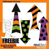 Free Halloween Clip Art Arrows