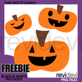 Free Halloween Clip Art, Cute Jack O Lanterns Clipart
