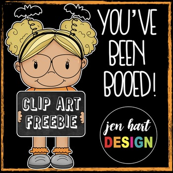 Free Halloween Clipart (You've Been Booed!)