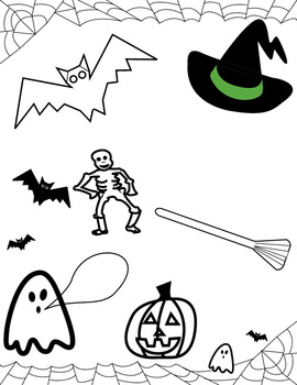 Free Halloween Coloring Worksheet