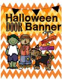 Free Halloween Door Banner