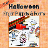 Halloween Finger Puppets and Poems - Free