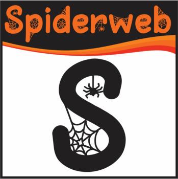 Free Halloween Font: Spiderweb (True Type Font)