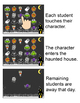 Halloween Activities Interactive Attendance with Lunch Count for All Whiteboards