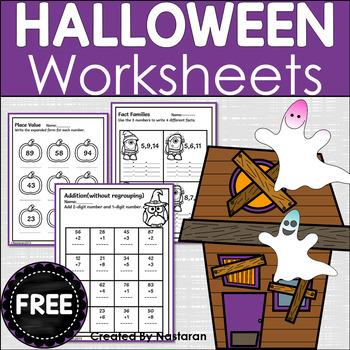 Free Halloween Math And Literacy